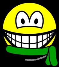 Green belt smile