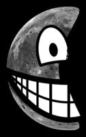 Half moon smile
