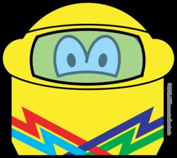 Helmet smile