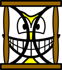 Hourglass smile