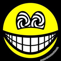 Hypnotized smile