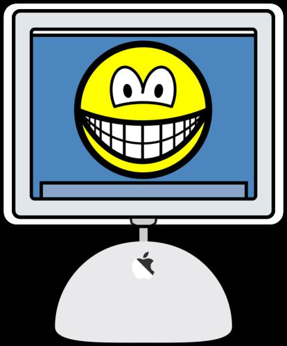 iMac smile