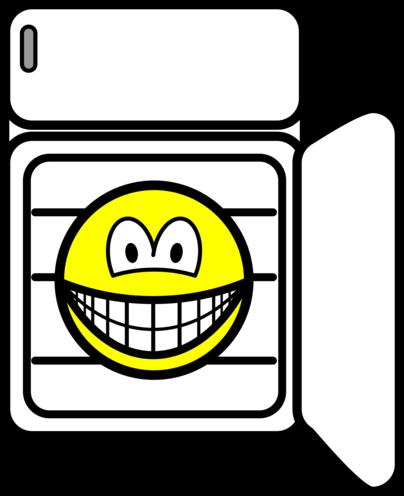 In fridge smile