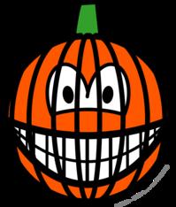 Jack-o-lantern smile