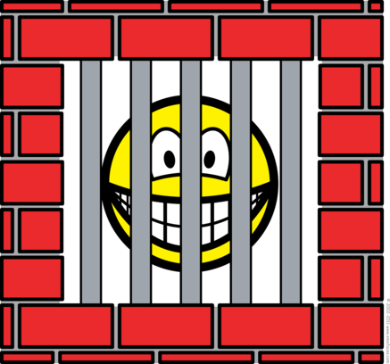 Jailed smile