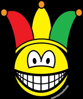 Joker/Carnival smile