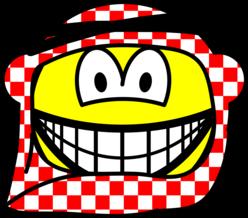 Jordan head cap smile