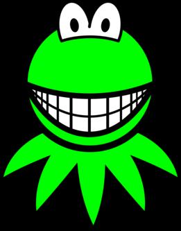 Kermit the Frog smile
