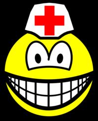 Male nurse smile