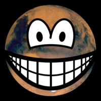 Mars smile
