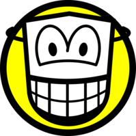 Masked smile