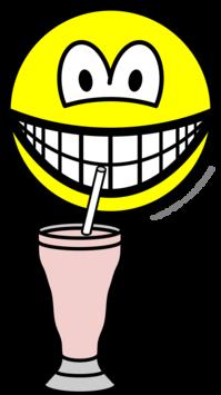 Milkshake smile