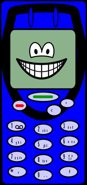 Mobile phone smile