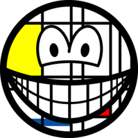 Mondriaan smile