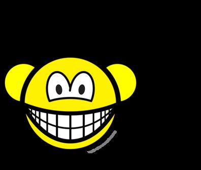 Monkey smile