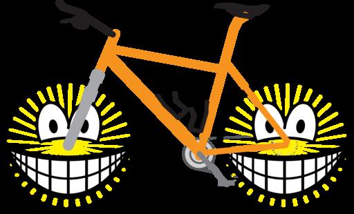 Mountain bike smile