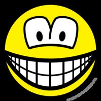 Telly/computer overdose smile