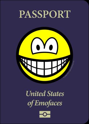 Passport smile