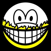 Peeled smile