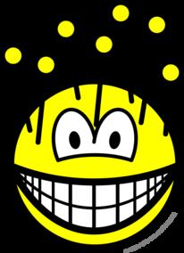 Pincushion smile