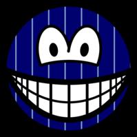 Pinstripe smile