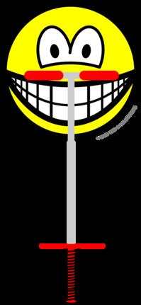 Pogo Stick smile