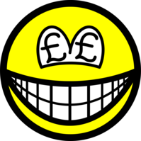 Pound eyed smile