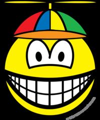 Propeller cap smile
