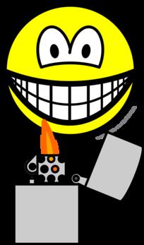 Pyro smile