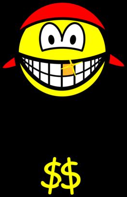 Rapper smile