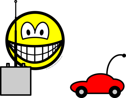 RC car smile