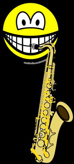 Saxophone smile