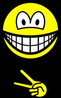 Scissors smile