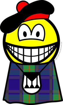 Scotsman smile