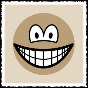 Sepia picture smile