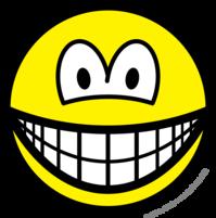 Shaken smile