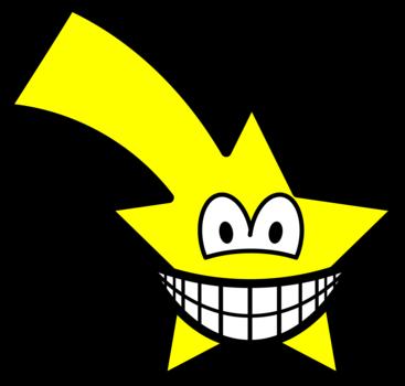 Shooting star smile