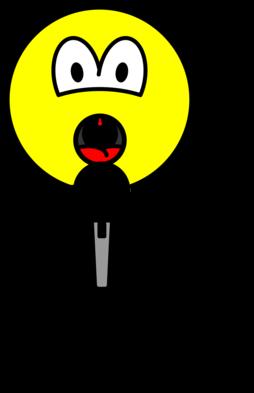 Singing smile