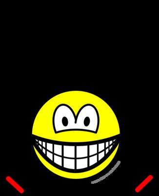 Skipping smile