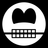 Skull smile