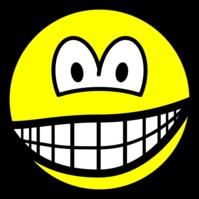 Smirking smile