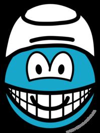 Smurf smile