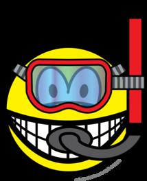 Snorkel smile