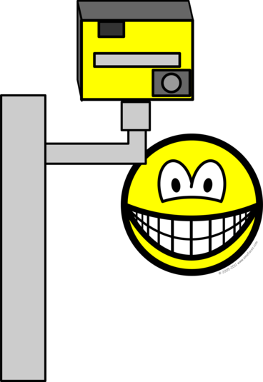 Speed camera smile