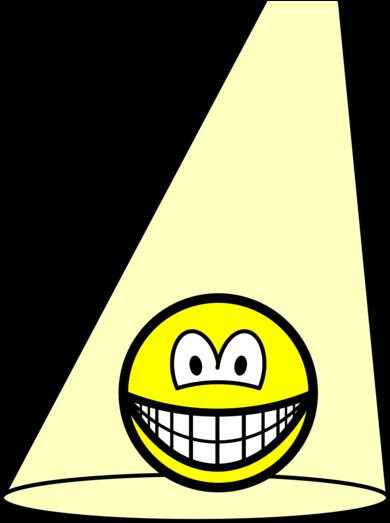 Spotlight smile