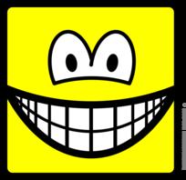 Square smile