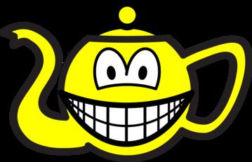 Teapot smile