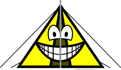 Tent smile