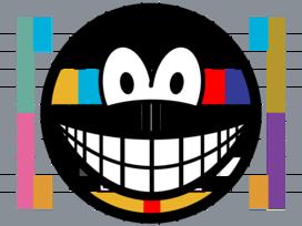 Test pattern smile