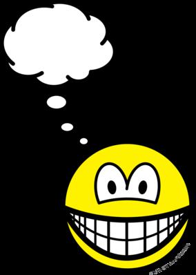 Thinking smile